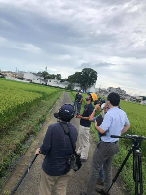 泉橋酒造 2020/9/10 NHK首都圏ネットワークでドローン農業が紹介されました