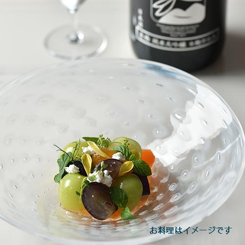 いづみ橋 白麹純米大吟醸とブドウのカプレーゼ