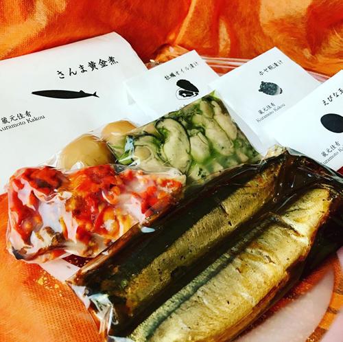 泉橋酒造 直営店「蔵元佳肴 いづみ橋」の自慢の惣菜を販売します。お得な詰め合わせセット。
